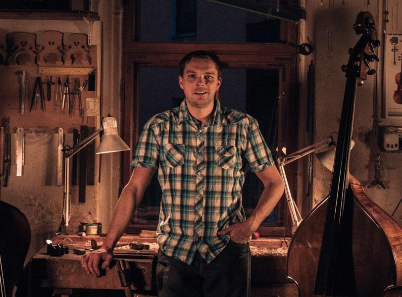 Marko Ackert Luthier kontrabassbau